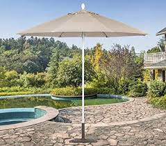 Tropishade 631W59 Commercial 9 Ft Patio Umbrella Is Perfect For Cafes Restaurants