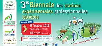 chambre d agriculture de rennes 3e biennale des stations expérimentales professionnelles laitières