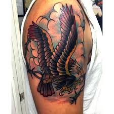 Sailor Jerry Eagle Tattoo Arm