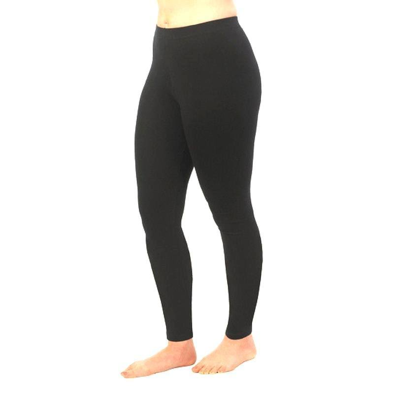 Maggie's Organics - Ankle Leggings, Black X-Large