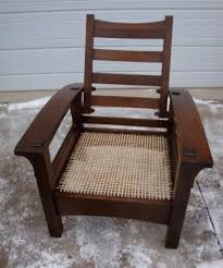 Stickley Morris Chair Free Plans by Gustav Stickley Bow Arm Morris Chair Woodworking Pinterest