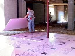 Insulating Carpet by Basement Floor Insulation Video Hgtv