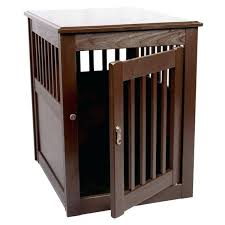 dog cage end table u2013 thelt co