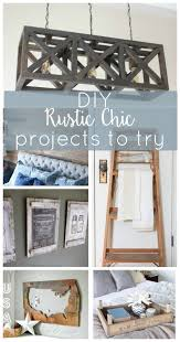 This Roundup Of Amazing DIY Rustic Chic Projects Will Give Your Home A Dose Farmhouse