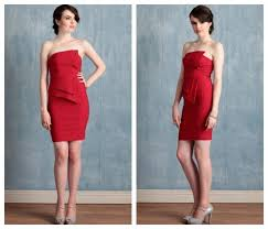 Awesome Red Bridesmaid Dresses