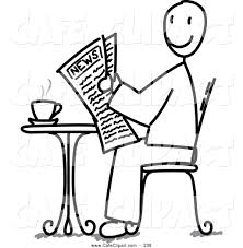 People Clip Art Black And White