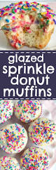 Pumpkin Muffin Dunkin Donuts Recipe by Glazed Sprinkle Donut Muffins Together As Family