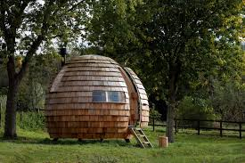 """Tiny House Designed As A Rotating """"Escape Pod"""" - Curbed Articles With Outdoor Office Pod Canada Tag Pods The System The Perfect Solution For Renovators Who Need More Best 25 Grandma Pods Ideas On Pinterest Granny Pod Seed Living Large Reveals A Mulfunctional Tiny Give Your Backyard An Upgrade With These Sheds Hgtvs Podzook A Simply Stunning Backyard Office Boing Boing Ideas Pictures Relaxshacks Dot Com Tiny Housestudy Nyu Professor Outside Sauna Royal Tubs Uk Australia Elegant Creative To Retain Privacy Steven Wells"""