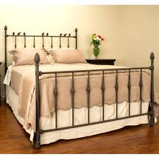 White Wrought Iron King Size Headboards by Wrought Iron Headboard For King Size Bed And Footboard Queen Twin