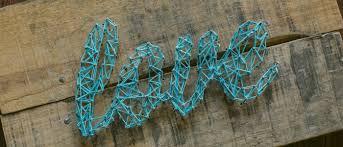 Undefined DIY String Art Letters