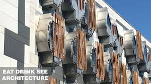 100 Edinburgh Architecture Scottish Parliament Miralles Tagliabue EMBT
