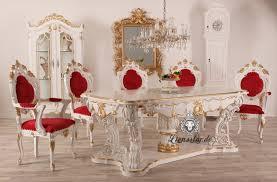 esstisch barock massivholz weiß gold louis lionsstar gmbh
