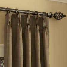 Decorative Traverse Rod For Patio Door by Pinch Pleat Curtains For Sliding Glass Doors