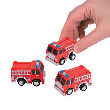 100 Fire Trucks Toys Fun Express Truck Truck Engine Pullbacks Toy 12 Pieces By
