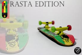 PlanktOon Fingerboard: Rasta Edition (PDF001)