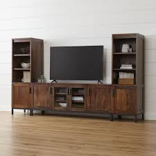 Wood Crate Tv Stand