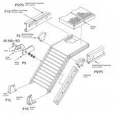 un palier d escalier votre escalier métallique en kit personnalisé