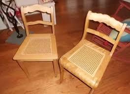 antik stuhl esszimmer stühle korbgeflecht helles holz biedermeier