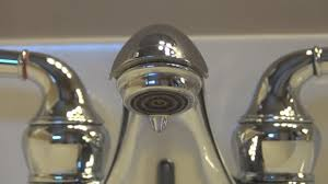 Moen Eva Faucet Leaking by Fixing A Leaking Moen Bathroom Faucet Youtube