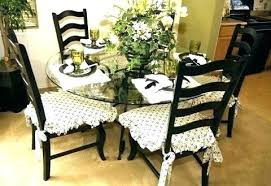 Dining Room Chair Cushions Sale Pads With Ruffles For Kitchen Chairs And Tie