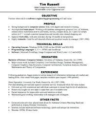Extra Curricular Activities In Resume Examples 8