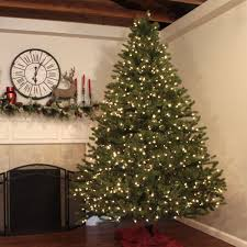 7FT Green Christmas Tree Artificial Unlit Premium Spruce Hinged Tree