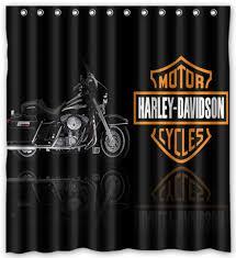 Harley Davidson Bathroom Themes by Nl750 Harley Davidson Motor Cycles Shower Curtain Bath 66