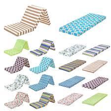 Foam Flip Chair Bed by Designer Prints Foldable Foam Mattress Z Bed Fold Guest Futon