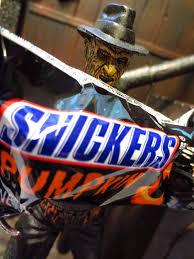 Freddy Krueger Pumpkin by The Epic Review Hokey Halloween Horror Snickers Pumpkin
