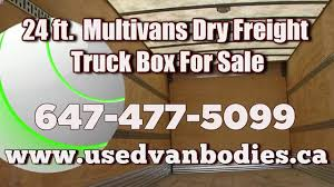 Multivans Truck Body, Used Multivans 24ft. Aluminum Truck Box For ... Van Bodies For Sale 60in Ca Fiberglass Utility Body With Electrichyd Bucket Bed Only Van Truck Refrigerator Freezer For Sale Thermo Body Work Coated Chevrolet Flatbed Trucks In Indiana Used On Contractor Bodies Drake Equipment Lvo Refrigerated Ab Dump Commercial Volvo Truck Beds Marycathinfo Fs Custom Painted Chevy Rc Tech Forums Mac Trailer Mylittsalesmancom