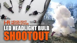 15 brands led headlight bulb shoot out which one s the best
