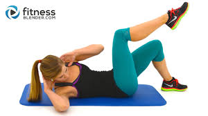 10 Minute Abs Workout At Home Abs and Obliques Exercises with