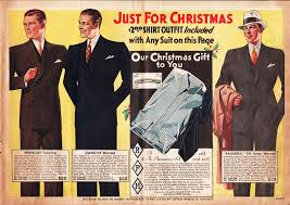 Mens Suits Advertisement 1933