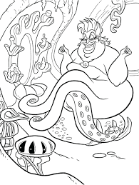 Mermaid Coloring Pages Barbie Tale Printable Free Little To Print Full Size