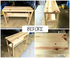 Ana White Sofa Table by Furniture Surprising The Happy Homebodies Diy Custom Sofa Table