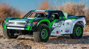 100 Losi Trucks 16 Super Baja Rey 4WD Desert Truck Brushless RTR With AVC