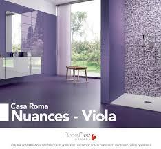 some purple in your flooring ceramic tiles design