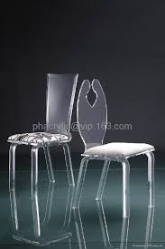 Acrylic Dining Chair Perpex Furniture Lucite 1