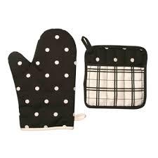 maniques cuisine gant de cuisine manique modele kitchen noir