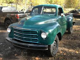 3/4 Ton Of Fun: 1952 Studebaker 2R11 Pickup Preowned 1959 Studebaker Truck Gorgeous Pickup Runs Great In San Junkyard Tasure 1949 2r Stakebed Autoweek 1947 Studebaker M5 12 Ton Pickup Truck Technical Help Studebakerpartscom Stock Bumper For 1946 M16 Truck And The Parts Edbees Classic Classy Hauler 1953 Custom Madd Doodlerthe Aficionadostudebakers Low Behold Trucks Directory Index Ads1952 Kb1 Old Intertional Parts