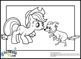 Applejack Coloring Pages Page For Kid