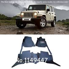 Jeep Wrangler Floor Mats Australia by Interior Leather Custom Car Styling Auto Floor Mats U0026 Carpets Pads