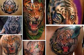 25 Absolutely Inspiring And Fearless Tiger Tattoo Designs