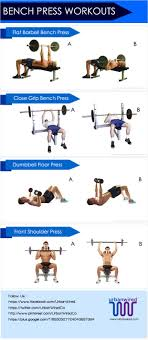 Bench Press Workouts For Beginners My New Routine Monday Bench