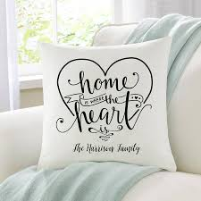 Home Is Where The Heart Family Cushion