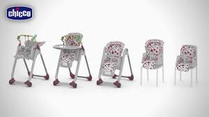 Chicco High Chair Polly by Chicco Polly Progres 5 In 1 Youtube