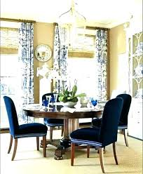 Navy Blue Living Room Curtains Decorating Ideas Dining