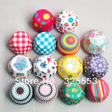 1000pcs Mixed Wedding Or Party Mini Size Cupcake Liners Paper Baking