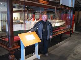 Rms Lusitania Model Sinking by Cunard Steamship Society U2013 News Articles Activities