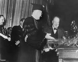 Churchills Iron Curtain Speech Bbc by Truman Gets New Shoes Pictures Getty Images